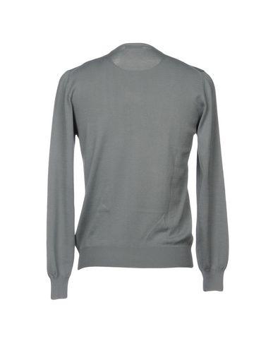 Фото 2 - Мужской свитер GRAN SASSO серого цвета