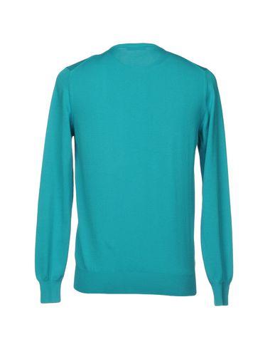 Фото 2 - Мужской свитер GRAN SASSO зеленого цвета