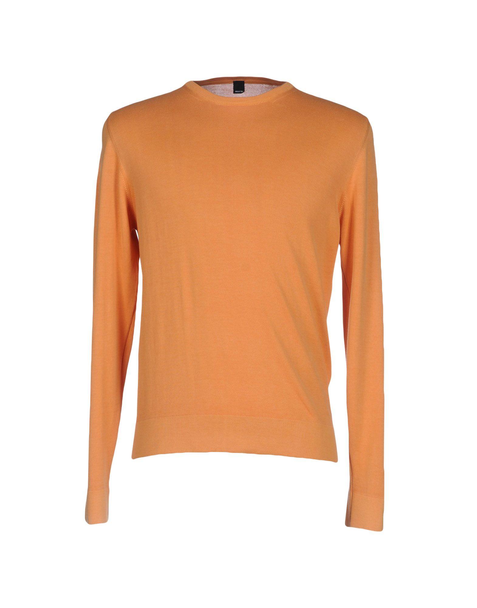 《送料無料》MAXI HO メンズ プルオーバー オレンジ 54 コットン 100%