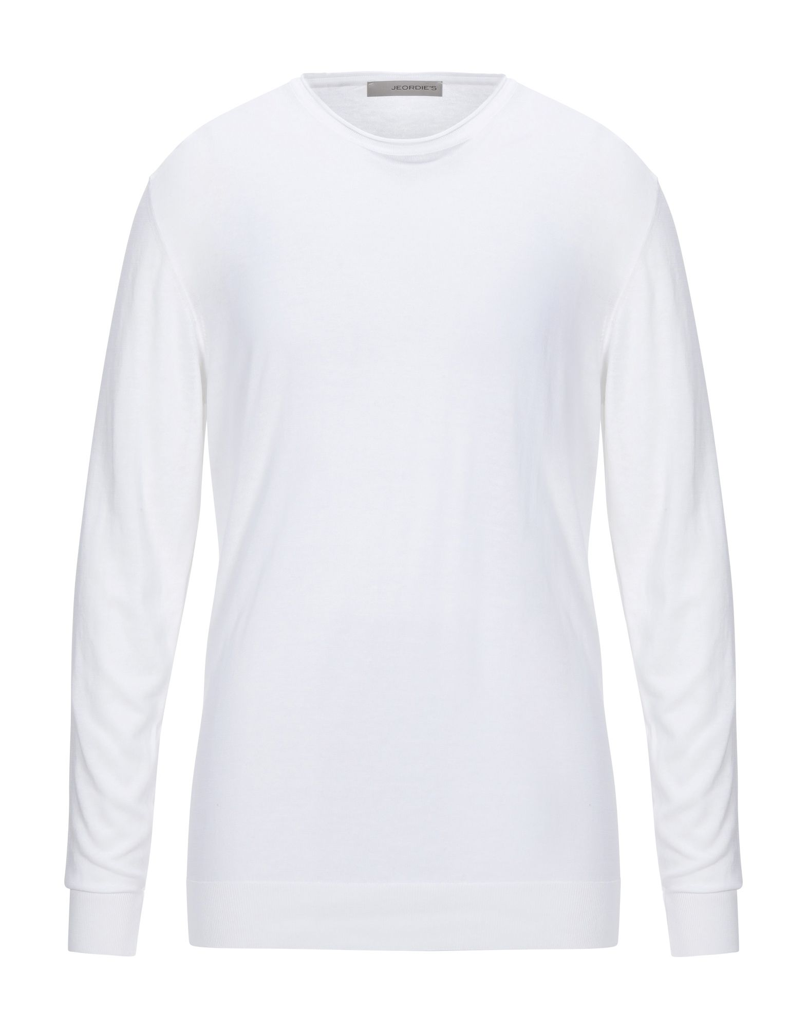 《セール開催中》JEORDIE'S メンズ プルオーバー ホワイト XXL コットン 100%