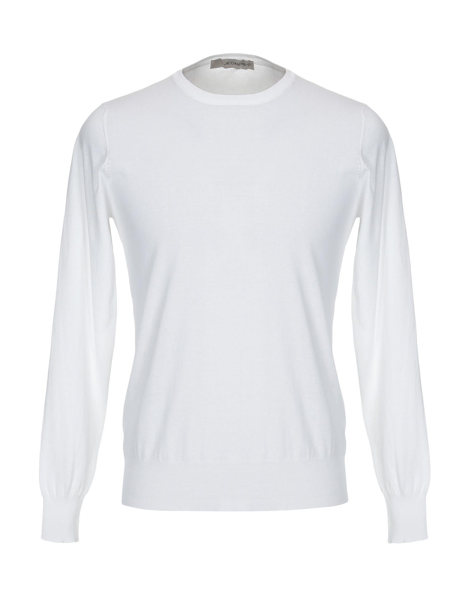 《セール開催中》JEORDIE'S メンズ プルオーバー ホワイト S コットン 100%