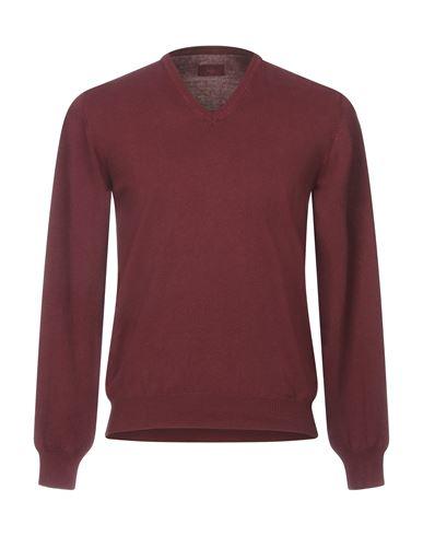 Фото - Мужской свитер GRAN SASSO цвет баклажанный