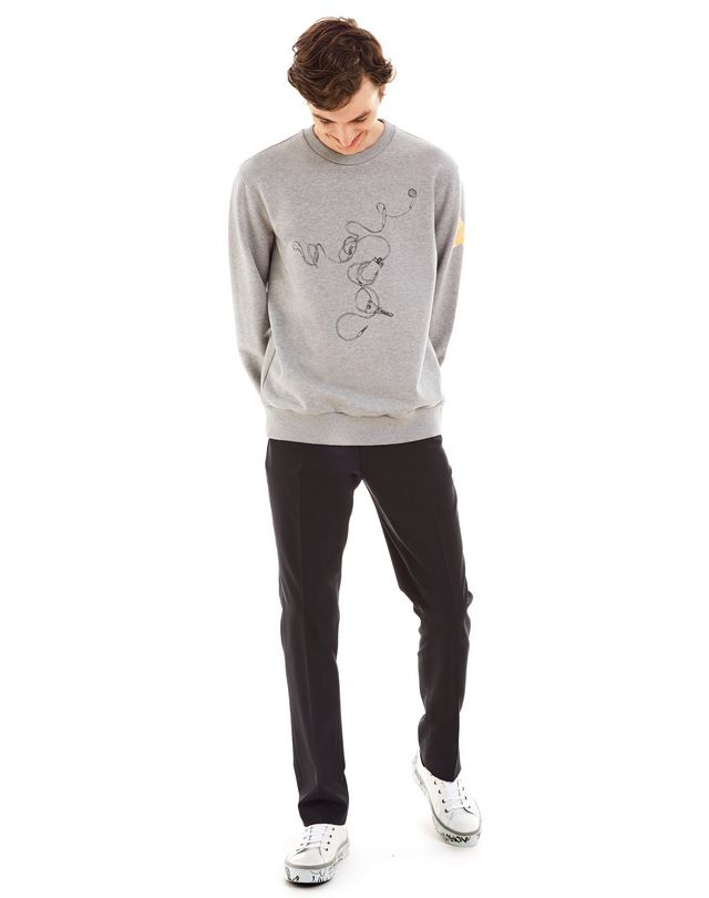 "LANVIN ""HEADPHONES"" SWEATSHIRT BY CÉDRIC RIVRAIN Knitwear & Jumpers U e"