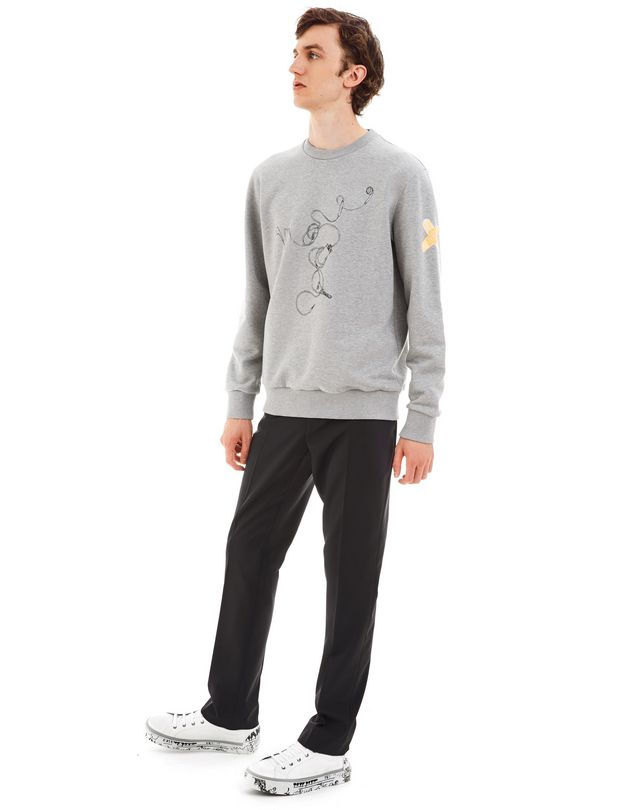 "LANVIN ""HEADPHONES"" SWEATSHIRT BY CÉDRIC RIVRAIN Knitwear & Jumpers U r"