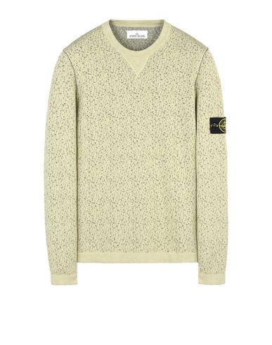 STONE ISLAND Crewneck sweater 518B4 REVERSIBLE KNIT