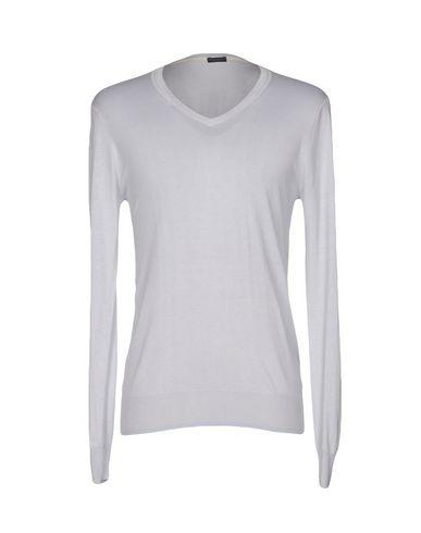 Купить Мужской свитер PAOLO PECORA светло-серого цвета