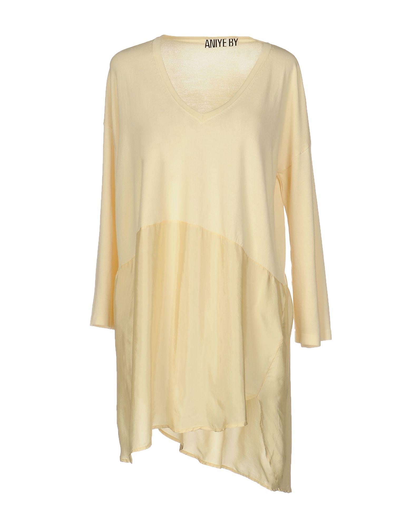 ANIYE BY Damen Pullover Farbe Beige Größe 4