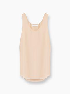 Silk tank top