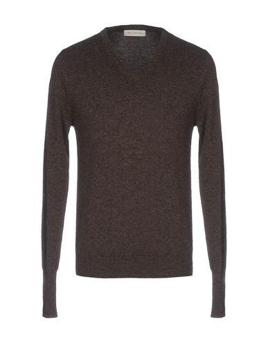 Купить Мужской свитер  темно-коричневого цвета