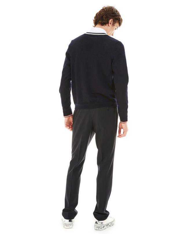 LANVIN OPENWORK V-NECK SWEATER Knitwear & Sweaters U d