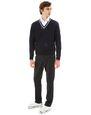 LANVIN Knitwear & Sweaters Man OPENWORK V-NECK SWEATER f