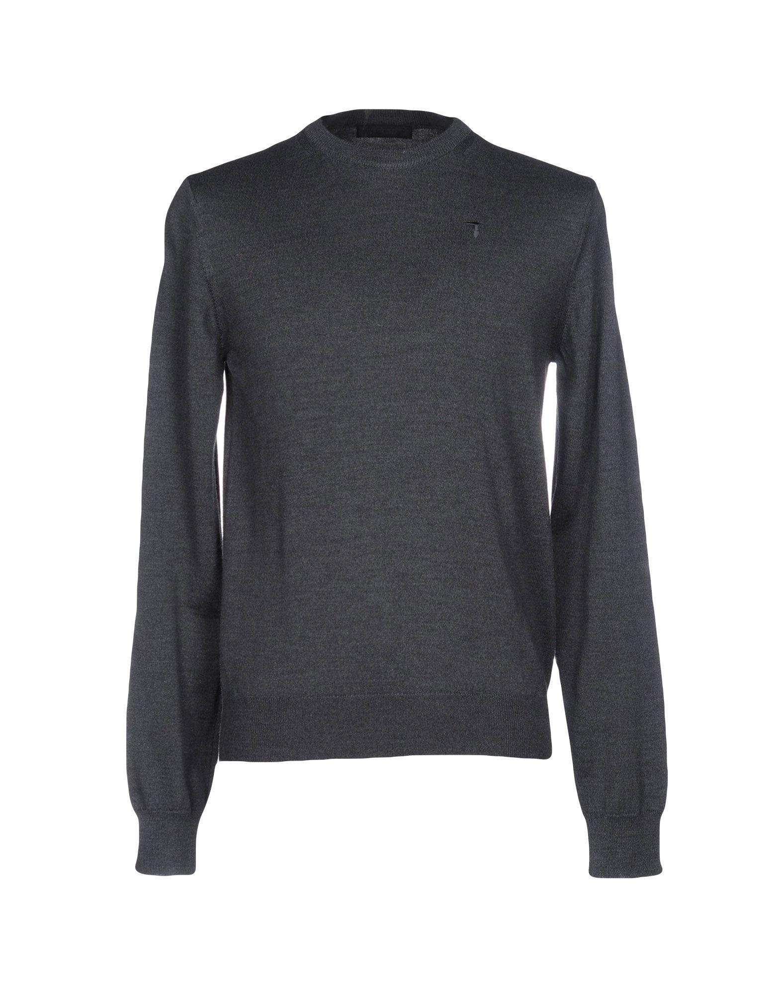 TRU TRUSSARDI Sweater in Lead