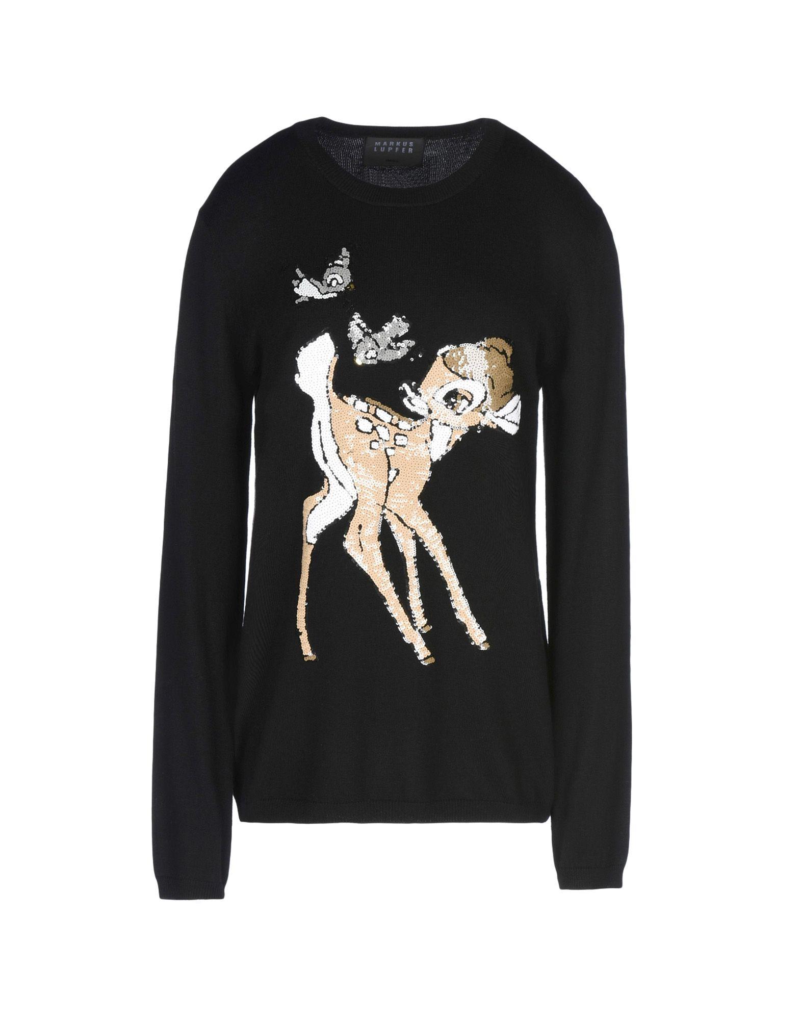 MARKUS LUPFER Damen Pullover Farbe Schwarz Größe 5