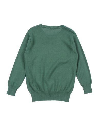IL GUFO Mädchen Pullover Grün Größe 6 100% Baumwolle