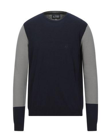 Фото - Мужской свитер  темно-синего цвета
