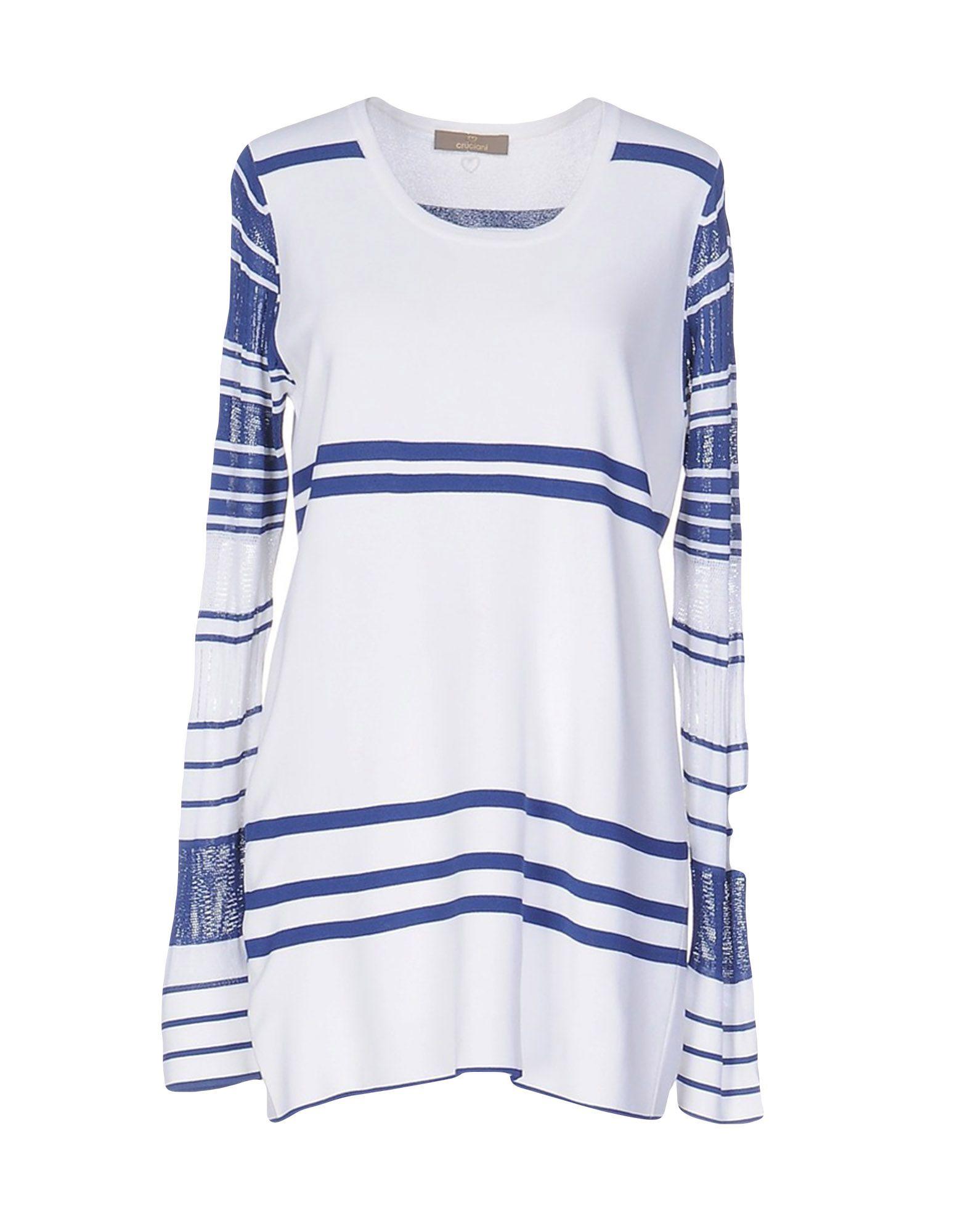 CRUCIANI Damen Pullover Farbe Weiß Größe 4