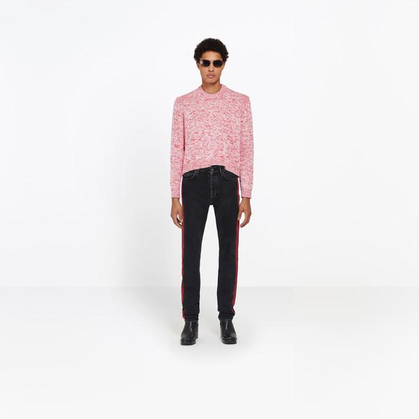 Round Neck Tuck In Sweater