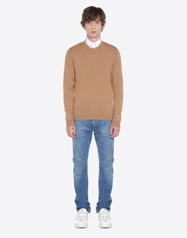 ROCKSTUD UNTITLED CASHMERE SWEATER