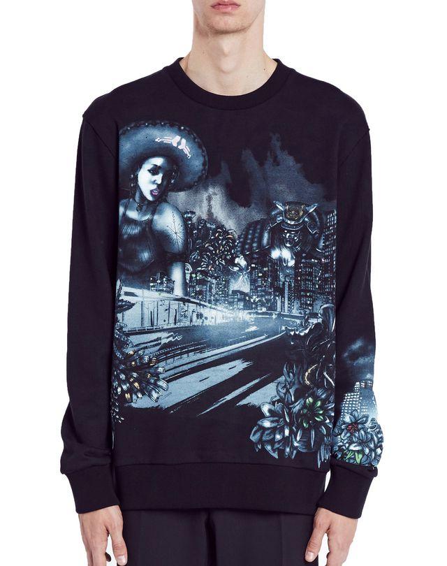 """LANVIN """"LONELY TOWN"""" SWEATSHIRT Knitwear & Sweaters U f"""