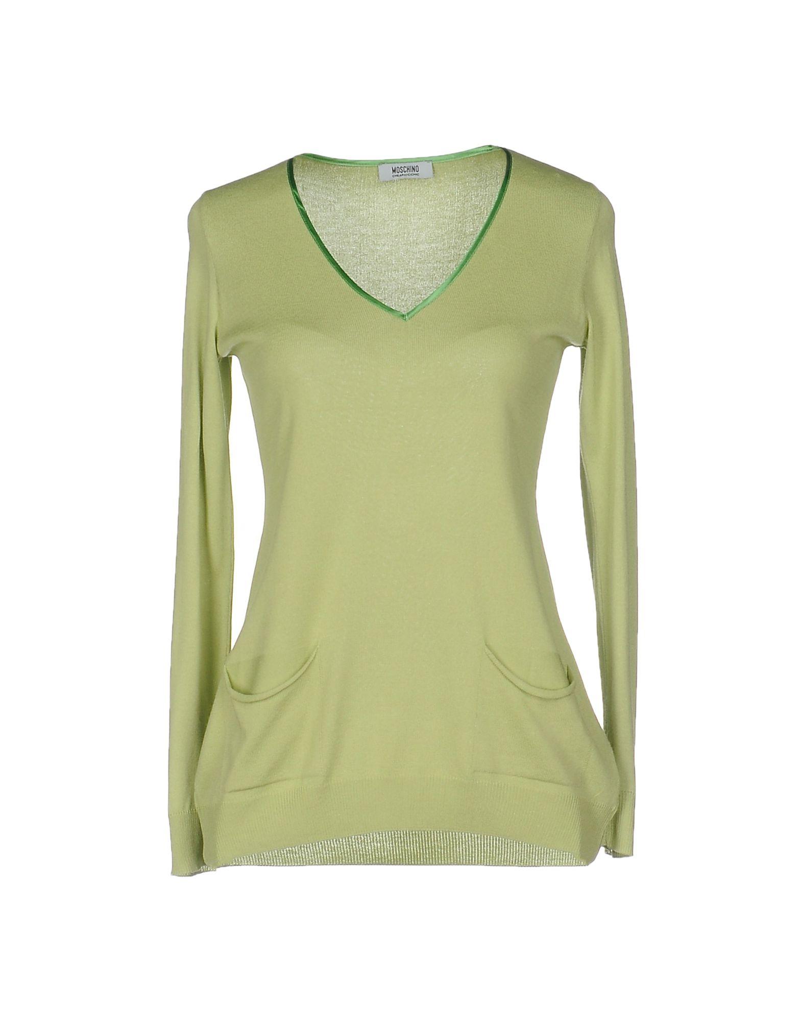 MOSCHINO CHEAP AND CHIC Свитер chic plain v neck chiffon blouse
