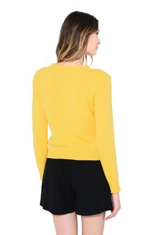 ALBERTA FERRETTI THURSDAY IN YELLOW KNITWEAR Woman d