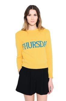 ALBERTA FERRETTI THURSDAY IN YELLOW KNITWEAR Woman r