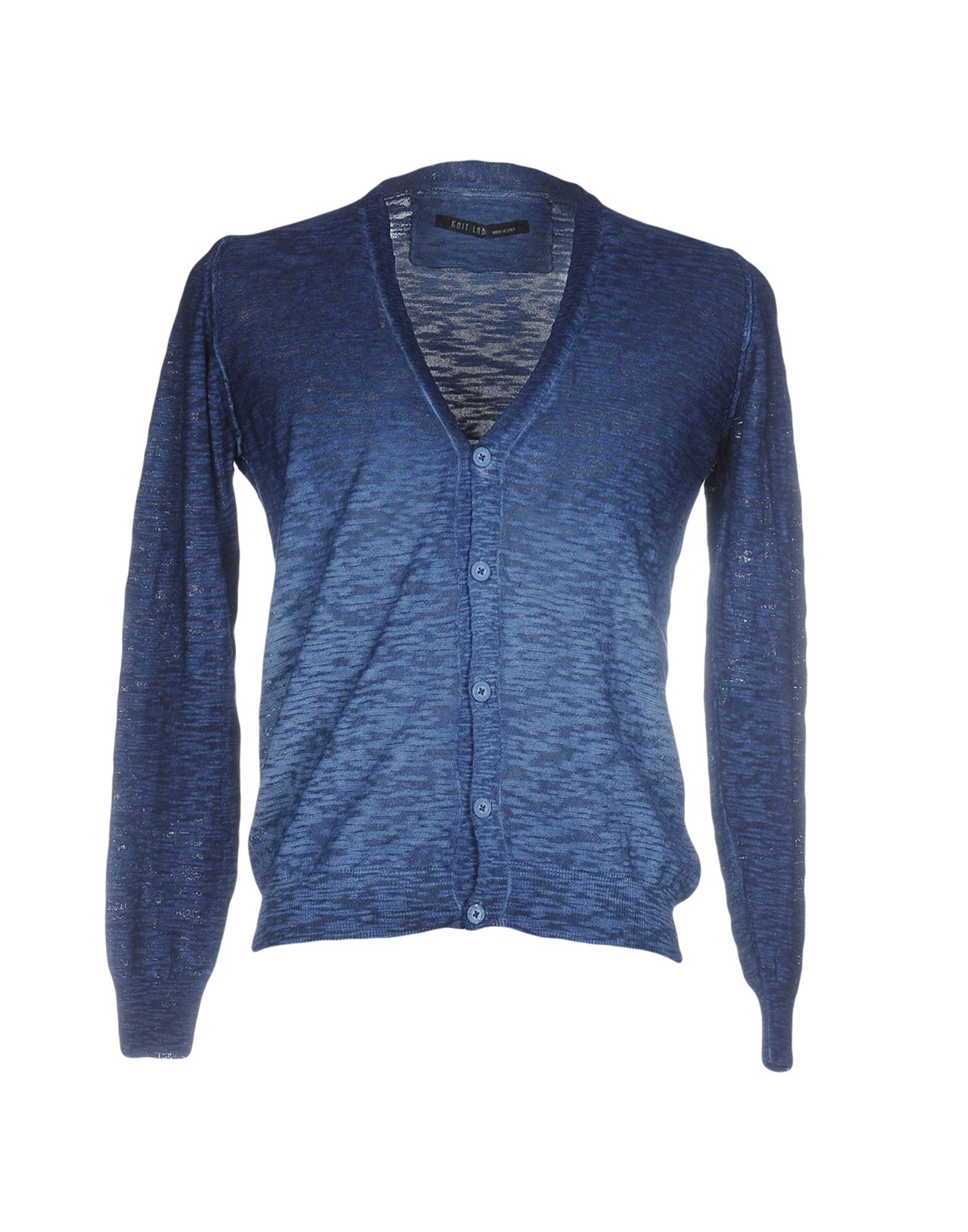 KNIT LAB Кардиган black casual knit v neck buttons design bodysuits