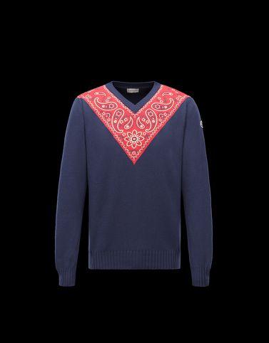 Moncler Long sleeve sweater U V NECK
