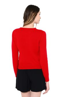 ALBERTA FERRETTI SATURDAY IN RED KNITWEAR Woman d