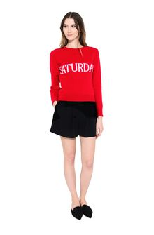 ALBERTA FERRETTI SATURDAY IN RED KNITWEAR Woman f