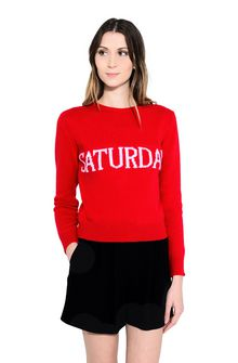 ALBERTA FERRETTI SATURDAY IN RED KNITWEAR D r