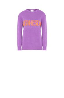 ALBERTA FERRETTI WEDNESDAY IN VIOLET KNITWEAR Woman e