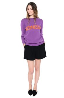 ALBERTA FERRETTI WEDNESDAY IN VIOLET KNITWEAR Woman f
