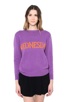 ALBERTA FERRETTI WEDNESDAY IN VIOLET KNITWEAR Woman r