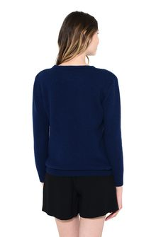 ALBERTA FERRETTI FRIDAY IN BLUE KNITWEAR Woman d