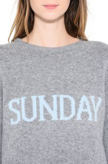 ALBERTA FERRETTI SUNDAY IN GREY MAGLIERIA D a