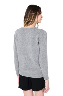 ALBERTA FERRETTI SUNDAY IN GREY KNITWEAR Woman d