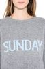 ALBERTA FERRETTI SUNDAY IN GREY KNITWEAR Woman a