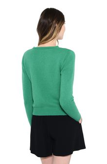 ALBERTA FERRETTI TUESDAY IN GREEN PULLOVER D d