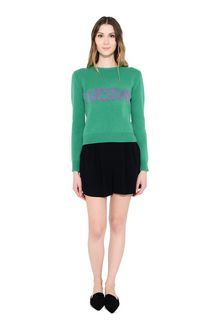 ALBERTA FERRETTI TUESDAY IN GREEN KNITWEAR Woman f