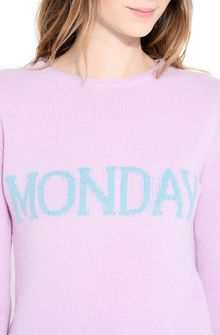 ALBERTA FERRETTI MONDAY IN PINK KNITWEAR Woman a