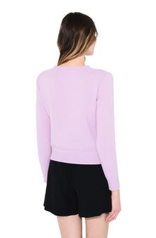 ALBERTA FERRETTI MONDAY IN PINK KNITWEAR Woman d