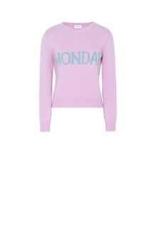 ALBERTA FERRETTI MONDAY IN PINK KNITWEAR Woman e