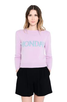 ALBERTA FERRETTI MONDAY IN PINK KNITWEAR Woman r