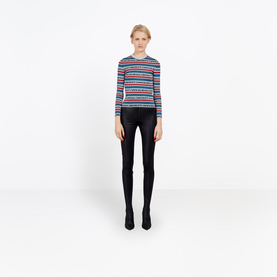 BALENCIAGA Http Crewneck Top Knitwear D g
