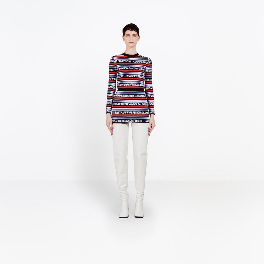 BALENCIAGA Http Mini Skirt Knitwear D f