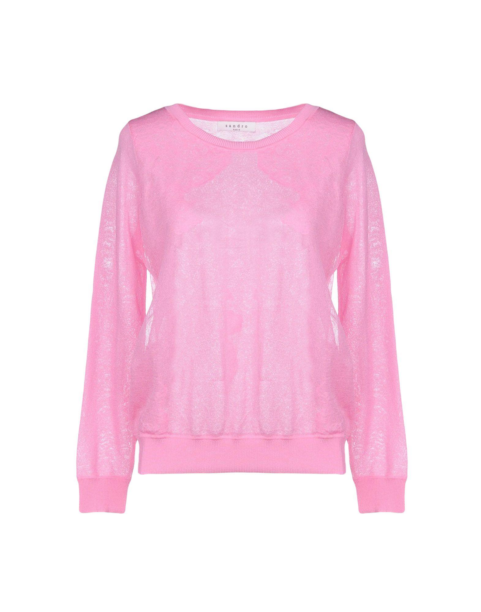 SANDRO PARIS Sweater in Pink