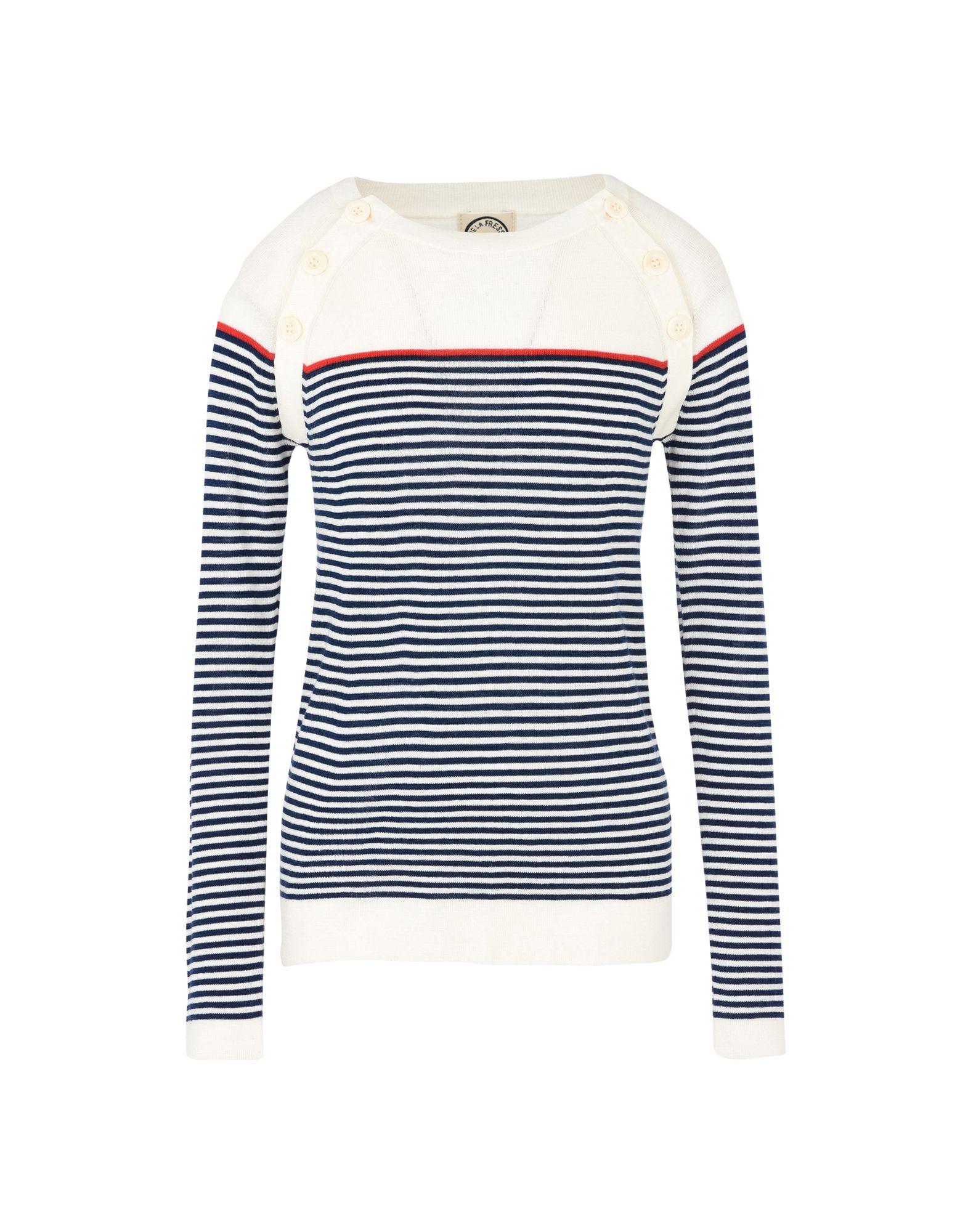 INES DE LA FRESSANGE Sweater in Ivory