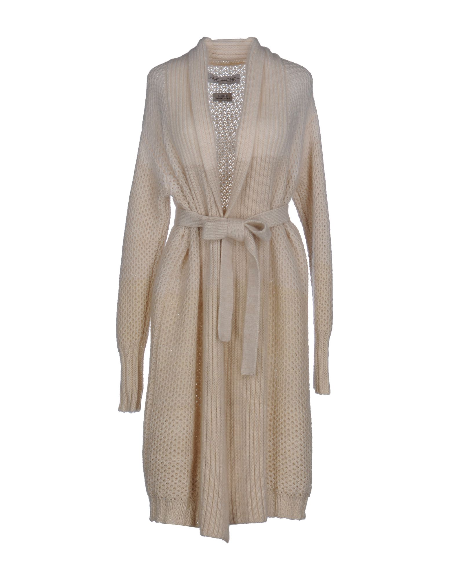 JAMES LONG Cardigan in Ivory