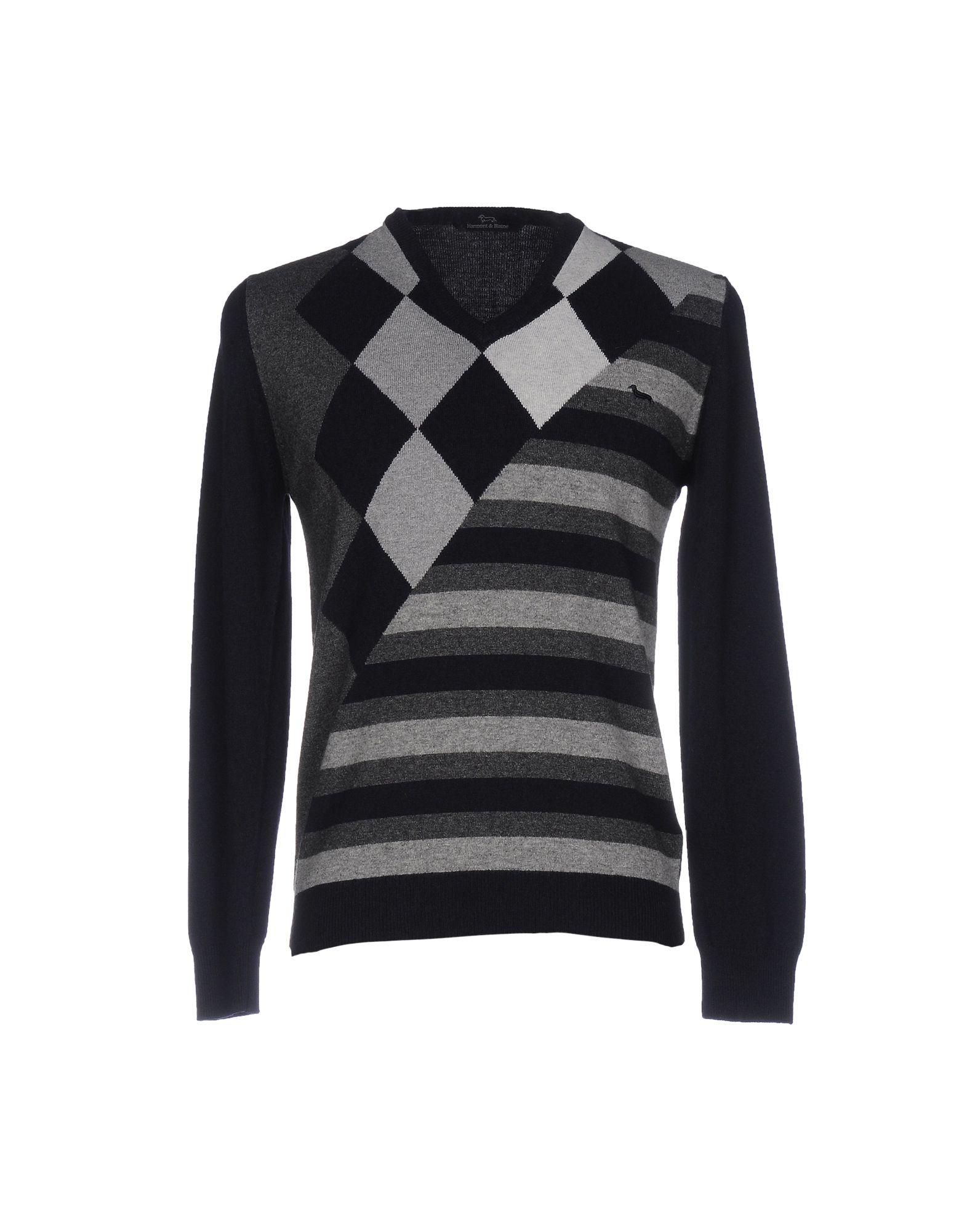 HARMONT&BLAINE Herren Pullover Farbe Dunkelblau Größe 4 jetztbilligerkaufen